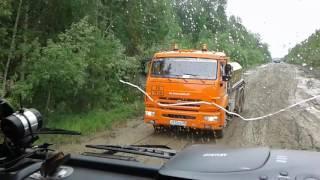 Трасса Епишино-Северо Енесейск. Грязь...
