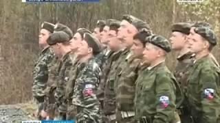 В Северо-Енисейском районе проходят военные сборы для школьников