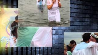 Сёстры Северо-Енисейска принимают водное крещение