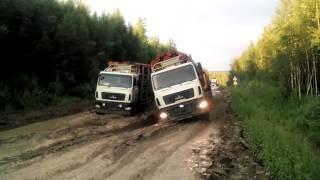 Дорога Епишино - Северо Енисейск-1 2016 07 07