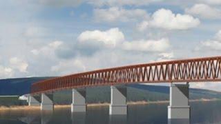 В Енисейском районе появится самый северный мост через Енисей
