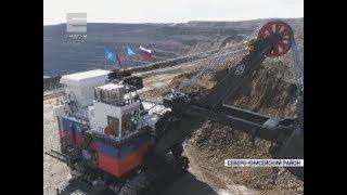 В Северо-Енисейском районе на золоторудном предприятии ввели в строй новую добывающую машину