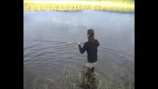Рыбалка на Подкаменной Тунгуске, тайменнь