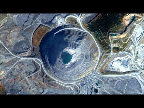 Добыча золота: как увеличивался крупнейший в России золоторудный карьер за 36 лет