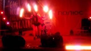 Огненное шоу для металургов  Полюс