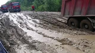 Дорога на Северо Енисейск
