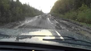 Штурм летней дороги в Северо-Енисейск 2015