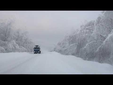 Трасса на Северо-Енисейск за р.Енисеем.