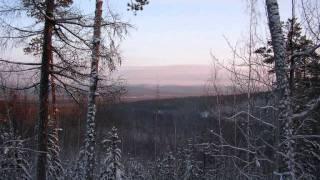 дорога Епишино-Северо Енисейск(зима)