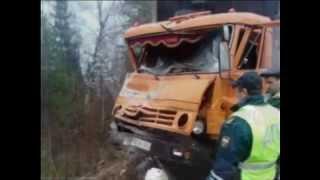 Четыре человека погибли в ДТП с КамАЗом в Енисейском районе