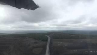 Landing in Severo-Eniseisk, 05.08.2015
