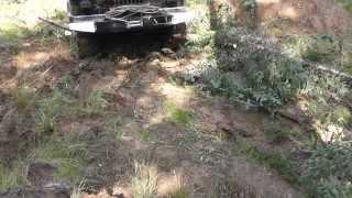 ГАЗ 66 грызли  -дикая тайга Северо-Енисейск