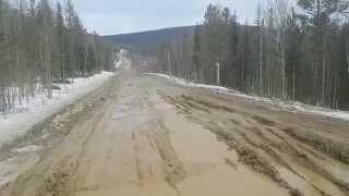 Трасса до Северо-Енисейска.