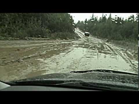 Дорога Епишино-Северо-Енисейск 2013-осень