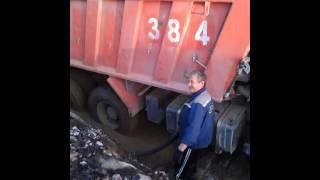 Заправка IVECO геолого- разведка Северо- Енисейск